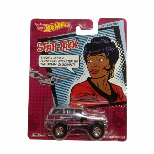 Hot Wheels 2013 Star Trek Pop Culture Lt. Uhura 1988 Jeep Wagoneer Die-Cast Car