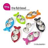 The Fish Bowl Fressnapf für Katzen, rosa -