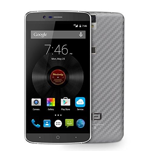 Elephone P8000 Smartphone Touch ID 4G 5.5 Inch FHD 3GB 16GB MTK6753 Octa Core Grey