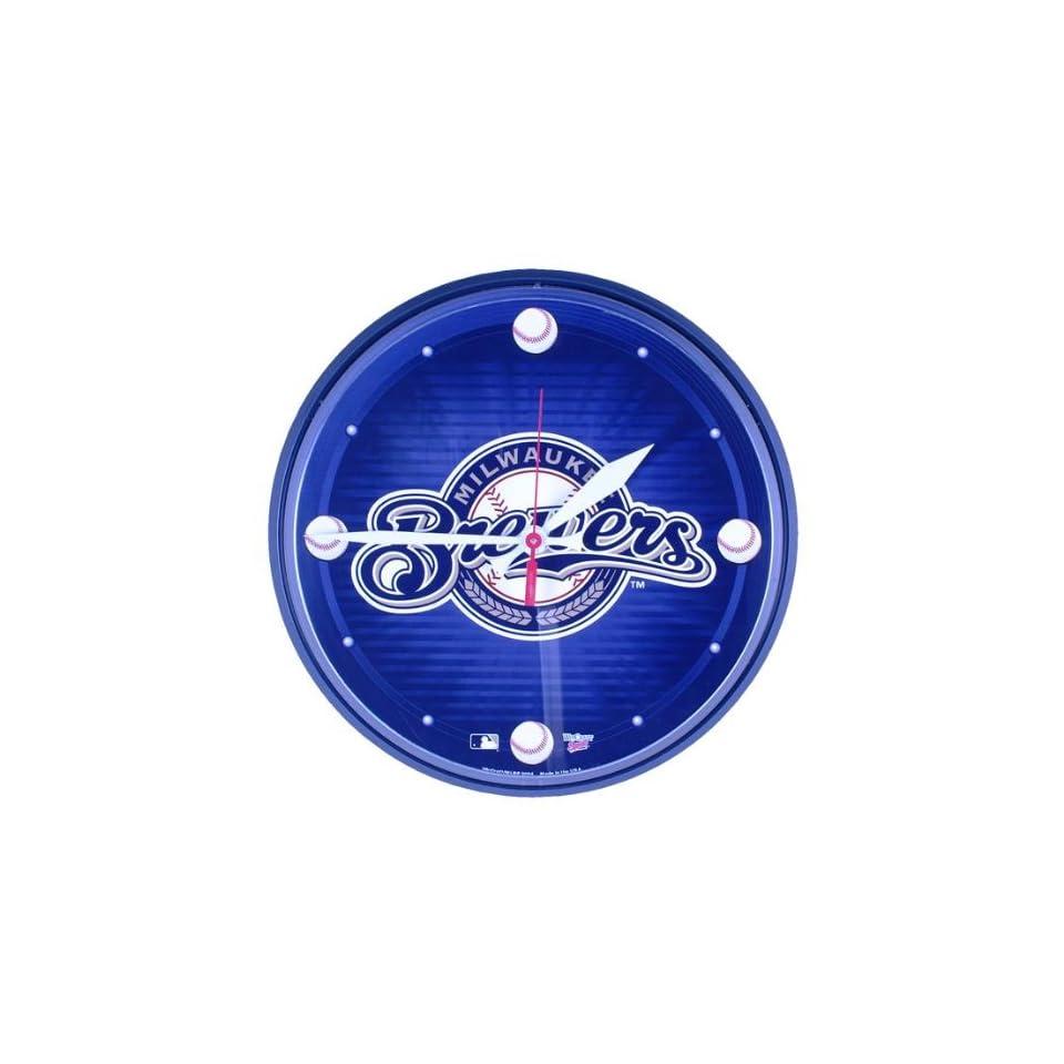 Milwaukee Brewers   Logo Wall Clock