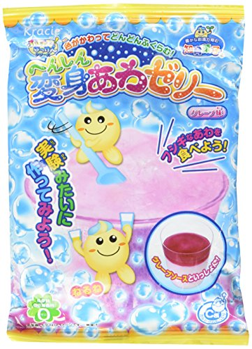 Kracie Bubble Jelly Diy Candy - Henshin Awa Jerry