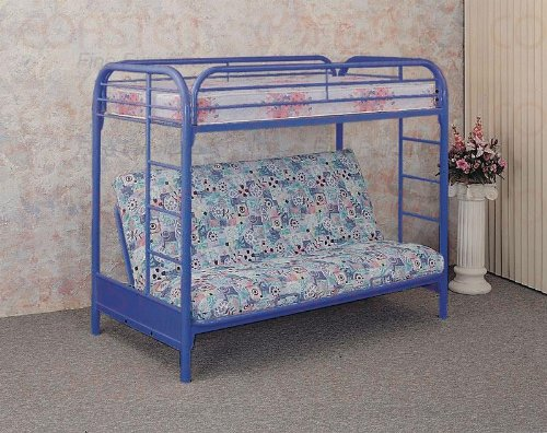 Full Over Futon Bunk Bed 2604 front