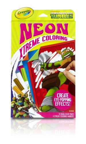 Crayola Neon Extreme Teenage Mutant Ninja Turtles Coloring Kit