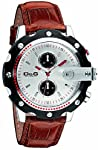 D&G DW0365 Gents Sean Chronograph Brown Strap Watch by D&G