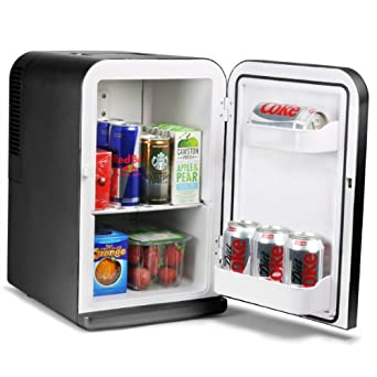 15 litre mini fridge cooler and warmer black large