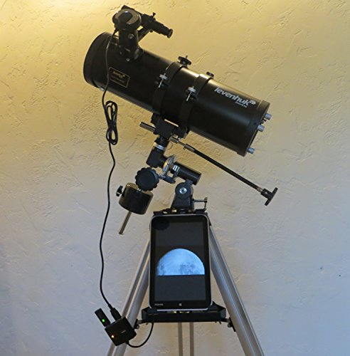 "Low-Cost 4.5"" Reflector Astrophotography Bundle - Reflector Telescope And Digital Camera"