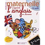 J'apprends l'anglais en chansons 3-6 ans (1CD audio)par Joanna Le May
