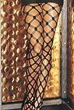 Large 5 String Fish Scale Fishnet Panty Hose
