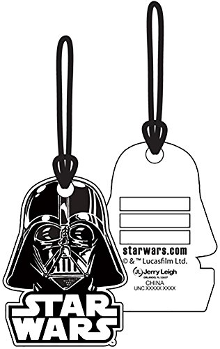 Star Wars Darth Vader Helmet Luggage Suitcase Tag
