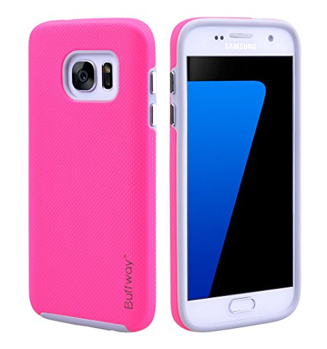 galaxy-s7-durable-case-buffway-dual-layer-with-drop-shock-proof-tpu-and-textured-pattern-grip-hard-c