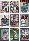Ryne Sandberg (9) Card Topps Baseball Lot #3 (Chicago Cubs)