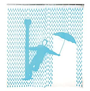 singin' in the rain shower curtain