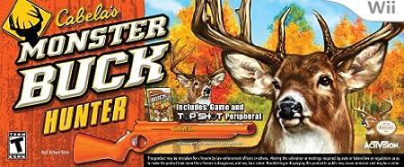 Cabela's Monster Buck Hunter with Gun Peripheral