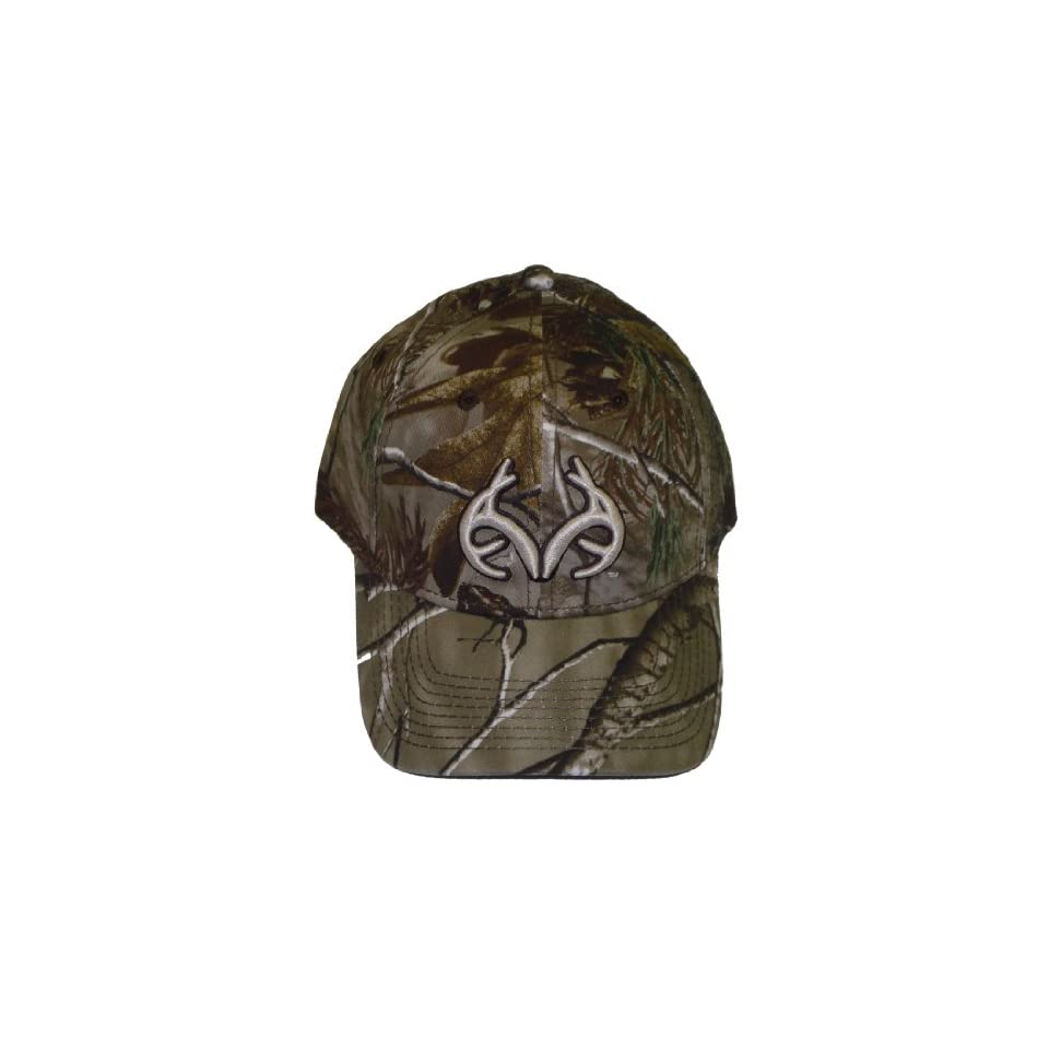 Realtree Outfitters Antler Logo Ap Camo Cap Hunting Hat RO232 Clothing 6d02ee5073bf