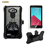 LG G4 Case, G4 Case, Beyond Cell® Tri Shield® High Impact Armor Hybrid Rugged Phone Case With Built in kickstand & Belt Clip Holster Kombo=Boxing Gloves-FREE Screen Protector