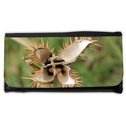 Cartera unisex // M00153821 Fiore spine spinoso Flora Giallo // Large Size Wallet