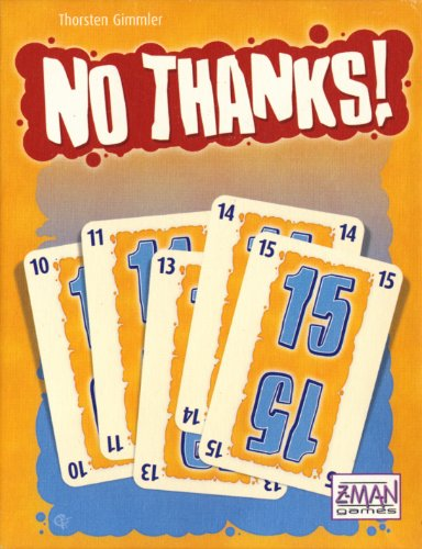 Z-Man Games No Thanks! Card Game - 1