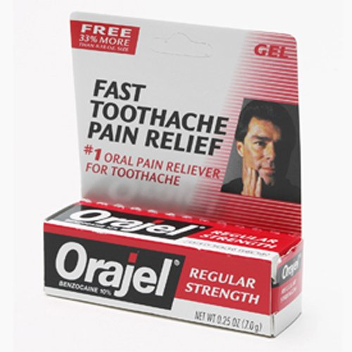 Regular Orajel Gel Adulte (Pack de 6)