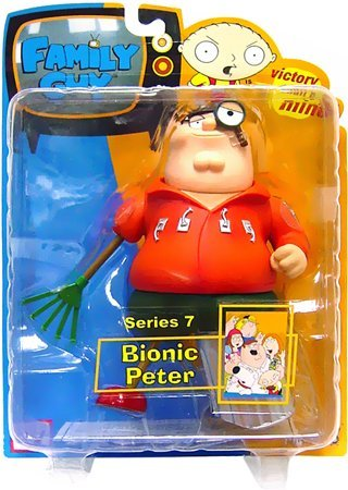 Buy Low Price Mezco Family Guy Series 7: Bionic Peter Action Figure (B000P22C9A)