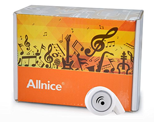 Allnice® Mini Small Snail Wireless Bluetooth Handsfree Headset Earphones Headphone For Iphone4 4S 5S 5C, Samsung Galaxy S4 S3 Note 2 3, Motorola X, Htc One, Nokia Lumia 1520, Blackberry Series, Sony Xperia Z, Lg G2 And Other Bluetooth Devices (White)