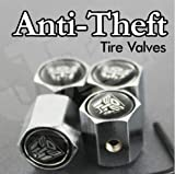 Transformers Autobot Anti-Theft Tire Valve Caps