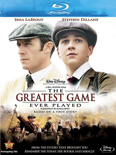 Cover art for  The Greatest Game Ever Played [Blu-ray]