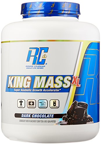 Ronnie Coleman Signature Series, King MASS-XL Super Anabolic Growth Accelerator, Dark Chocolate, 6 Pound (Coleman Natural compare prices)