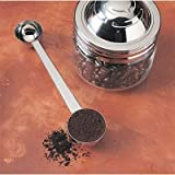 Stainless Steel Double Espresso Coffee Scoop Measure