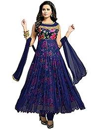Jay Varudi Creation Women Net Dress(Women's Clothing Dress For Women Latest Designer Wear Dress Collection In...