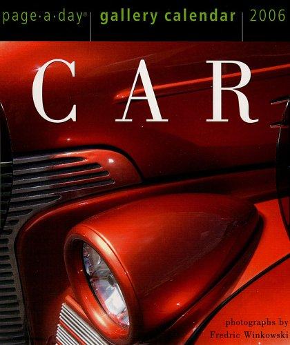 Car Gallery Calendar 2006