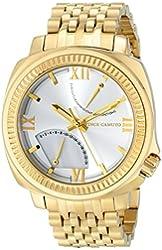 Vince Camuto Men's VC/1002MPGP The Veteran Multi-Function Gold-Tone Bracelet Watch