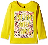 #3: United Colors of Benetton Baby Girls' T-Shirt (16A3094C162EI10F1Y_Yellow_1Y)