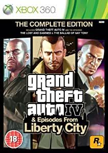 Grand Theft Auto IV: Complete Edition (Xbox 360)