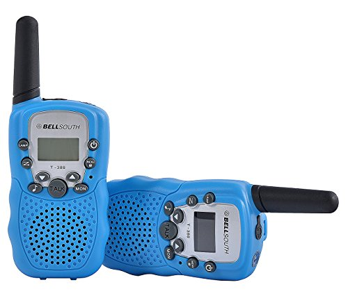 bellsouth-t388-portable-chargeable-children-walkie-talkies-5-miles-range-with-led-display-bluepack-o