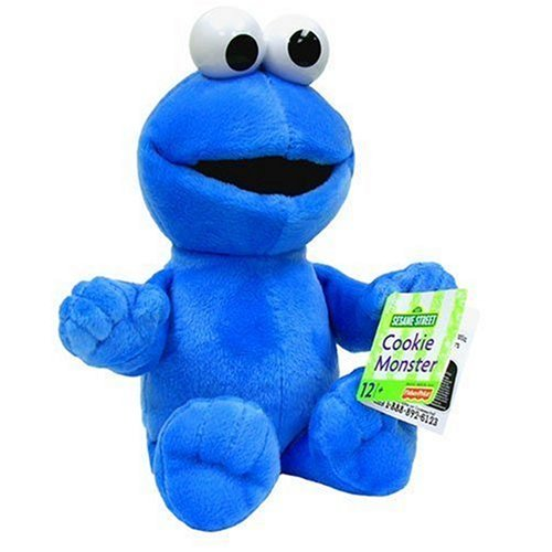 Sesame Street Cookie Monster Plush - Fisher Price (Cookie Monster Fisher Price compare prices)