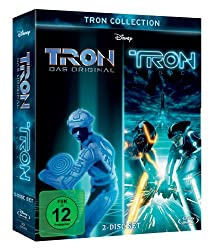 Die TRON Collection: TRON & TRON Legacy auf 2 Blu-rays ab 18,99 Euro