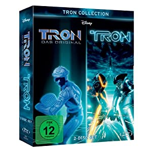 513S8ZPzw2L. SL500 AA300   TRON Collection: TRON & TRON Legacy [Blu ray] für 18,99€