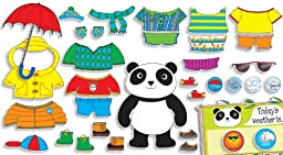 Scholastic Weather Panda Bulletin Board (TF8021)