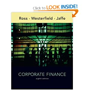 fundamentals of corporate finance 8th edition solutions manual pdf