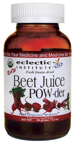 Beet Juice Powder Eclectic Institute 90 g Powder (Freeze Dried Beet Powder compare prices)