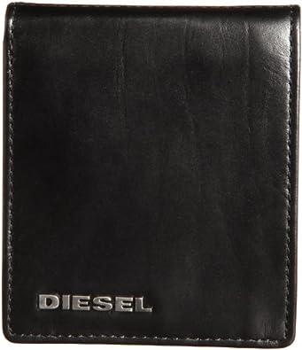 """Diesel """"FRESH & BRIGHT"""" HIRESH SMALL X02471 PR378 Herren Geldbörsen 11x10x2 cm (B x H x T), Schwarz (Black/Balsam H2354)"""