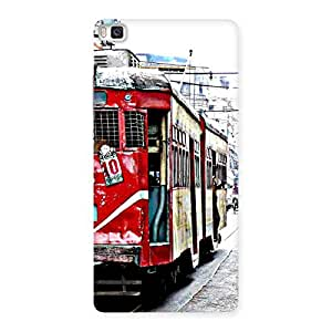 Impressive Calcutta Multicolor Back Case Cover for Huawei P8
