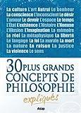 Philosophie : les 30 plus grands concepts expliqués (French Edition)