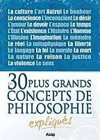 Philosophie : les 30 plus grands concepts expliqu�s