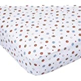 Carter's Easy Fit Printed Crib Fitted Sheet, Sport (Discontinued by Manufacturer)