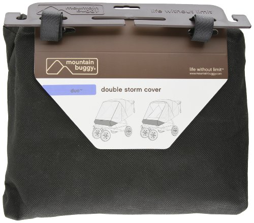 Mountain Buggy Duo Storm Cover, Clear front-215954
