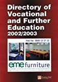 Directory of Vocational and Further Education 2002/2003