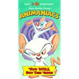 Animaniacs: You Will Buy This Video [VHS] ~ Rob Paulsen