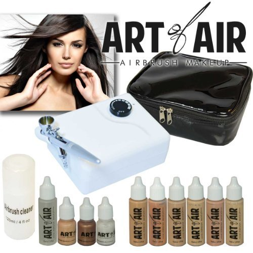 art-of-air-professional-airbrush-cosmetic-makeup-system-fair-to-medium-shades-6pc-foundation-set-wit