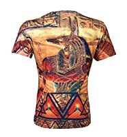 "Urban Icon Men's Sublimation T-shirt ""anubis"""